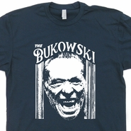 The Charles Bukowski T Shirt The Shining T Shirt Literary T Shirts Book