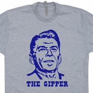 Ronald Reagan T Shirt The Gipper T Shirt Vintage Republican Campaign Tees
