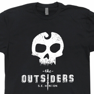 The Outsiders T Shirt S.E. Hinton Vintage Retro T Shirts 80s Tees