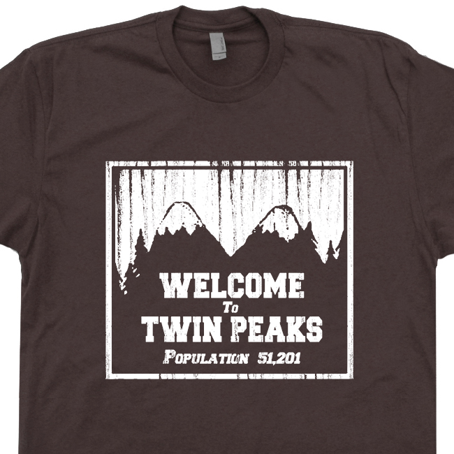 ShirtVintage Peaks T Cool Twin Movie Tv Shirts yb7vY6gf