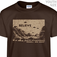 UFO Roswell New Mexico T Shirt Cool Kids Shirt Funny Youth Shirts