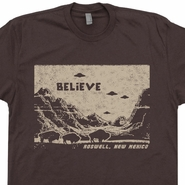 UFO T Shirt Cool UFO Shirt Roswell New Mexico Shirt Alien T Shirt
