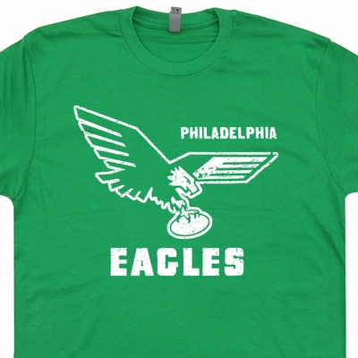 Vintage Philadelphia Eagles T Shirt Philadelphia Eagles Throwback Jersey