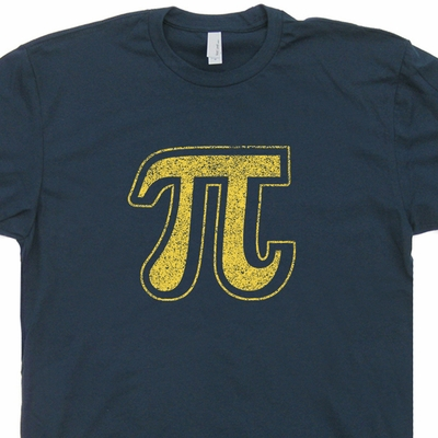 Pi Symbol T Shirt Geek T Shirt Math T Shirt Engineer Shirt