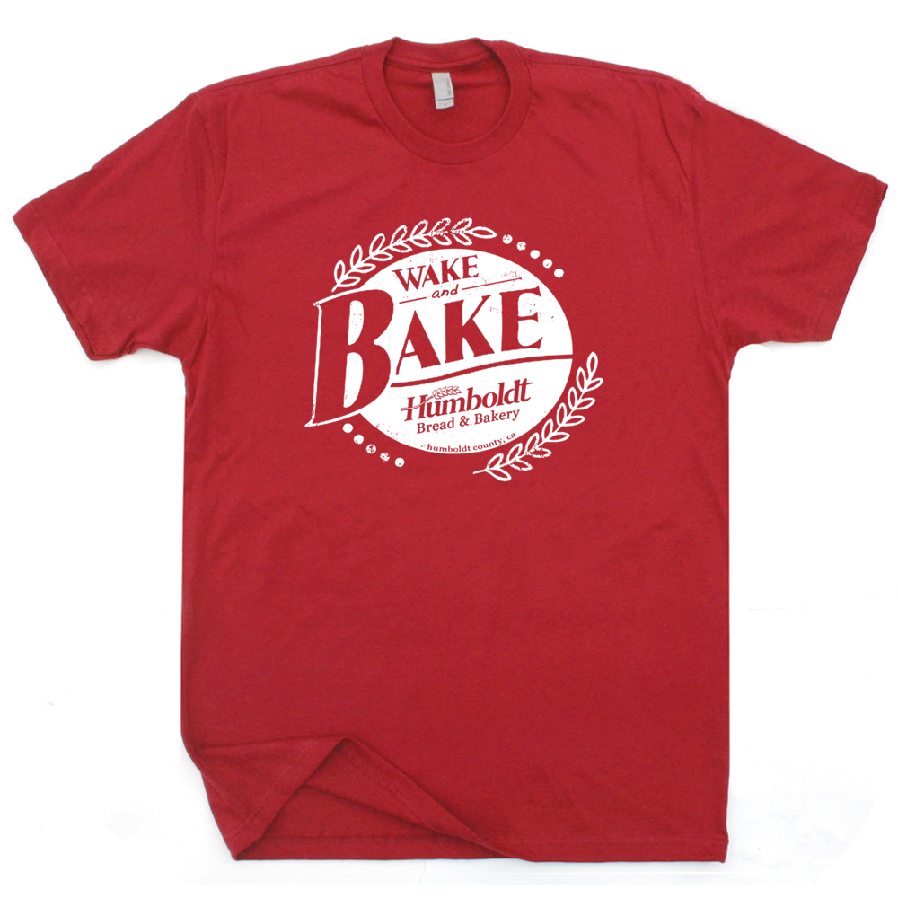 Wake and bake t shirt widespread panic shirts funny for Asheville t shirt company