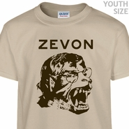 Warren Zevon T Shirt Werewolves of London Shirt Kids Youth Shirts