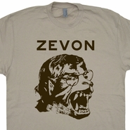 Warren Zevon T Shirt Werewolves of London Shirt Phish Shirt Band Shirt