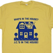 Jesus Christian T Shirt Who's In The House Jesus Shirt Bible Quote Shirt