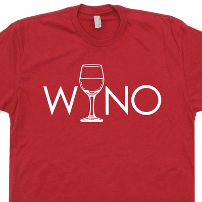 Wino Wine T Shirt Funny Alcohol T Shirt Wine Drinker T Shirt Funny Beer