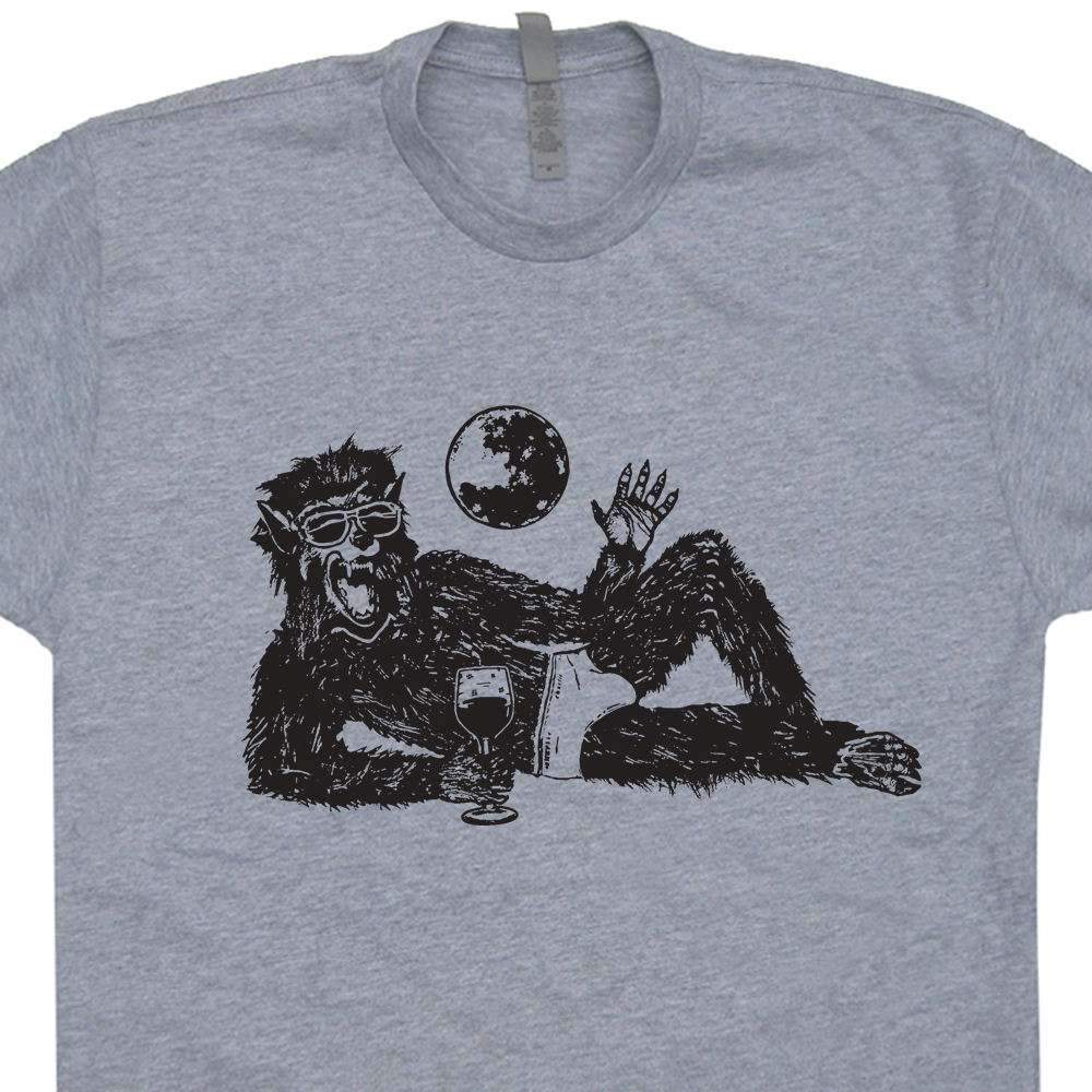Wolfman T Shirt | Vintage Horror Movie Shirts | Vintage wolfman Shirt
