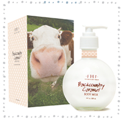 Backcountry Caramel Body Milk Lotion