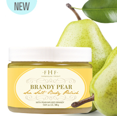 Brandy Pear Sea Salt Body Polish
