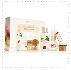 BRIGHT EYED & BUSHY-TAILED<BR>4-Piece Facial Care Set