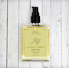 CITRUS CILANTRO<br>Body Oil