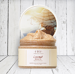COCONUT BEACH®<br>Whipped Shea Butter Body Polish