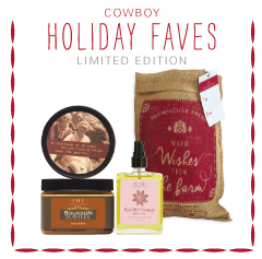 Cowboy Holiday Faves Limited Edition Gift Set