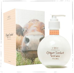 Ginger Sorbet Body Milk Lotion