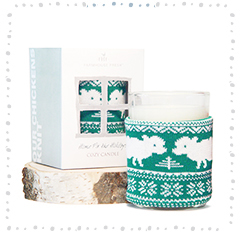 Home Fir the Holidays Cozy Sweater Candle