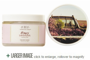 Honey Lavender Fine Grain Salt Scrub