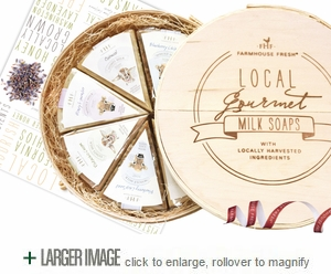Local Gourmet Milk Soaps Gift Set
