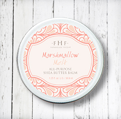 MARSHMALLOW MELT<BR>Shea Butter All-Purpose Balm