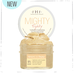 Mighty Tighty - Turmeric & Banana Tightening Mask