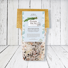ROSEMARY MINT TEA<br>Gourmet Mineral Bath Soak