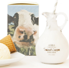 SWEET CREAM<br>Body Milk Lotion - Decorative Cruet