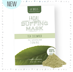 Tea Cucumber Facial Buffing Mask