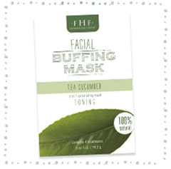 TEA CUCUMBER<br>Facial Buffing Mask