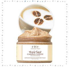 TRIPLE SHOT<br>Whipped Shea Butter Body Polish