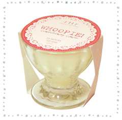 Mini Whoopie! Cream Confectionery Glass Candle