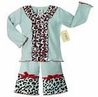 2pc Chic Cheetah Print Baby Girls Boutique Outfit