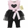 2pc Heart Tutu Baby Girl Leggings Outfit by Sweet Jojo Designs