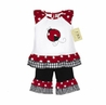 2pc Polka Dot Ladybug Baby Girl Outfit by Sweet Jojo Designs