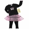 2pc Princess Tutu Baby Girls Leggings Outfit by Sweet Jojo Designs