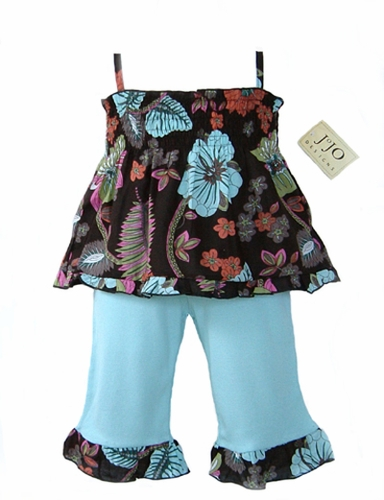 2pc Smocked Boutique Baby Outfit by Sweet Jojo Designs - Click to enlarge