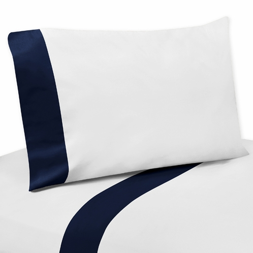 4 pc Queen Sheet Set for Anchors Away Nautical Bedding Collection - Click to enlarge