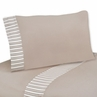 3 pc Twin Sheet Set for Giraffe Neutral Bedding Collection by Sweet Jojo Designs