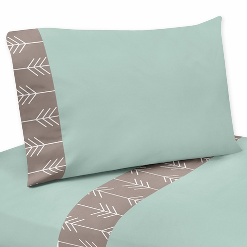 4 pc Queen Sheet Set for Outdoor Adventure Bedding Collection - Click to enlarge