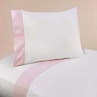 3 pc Twin Sheet Set for Pink French Toile Bedding Collection