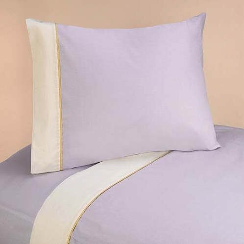 3 pc Twin Sheet Set for Purple Dragonfly Dreams Bedding Collection - Click to enlarge