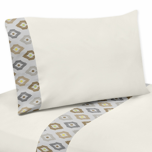 3 pc Twin Sheet Set for Safari Outback Jungle Bedding Collection - Click to enlarge