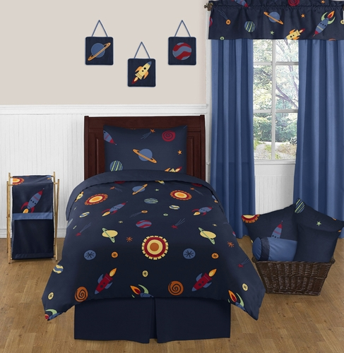 Space Galaxy 4pc Twin Bedding Set Collection - Click to enlarge