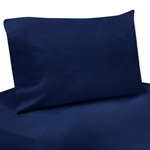4 pc Navy Queen Sheet Set for Blue and Green Mod Dinosaur Bedding Collection