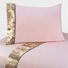 4 pc Queen Sheet Set for Abby Rose Bedding Collection