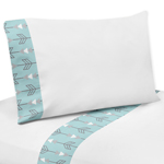 4 pc Queen Sheet Set for Earth and Sky Bedding Collection