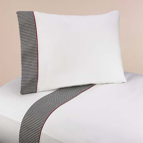 4 pc Queen Sheet Set for Ladybug Parade Bedding Collection - Click to enlarge
