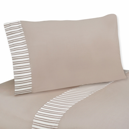 4 pc Queen Sheet Set for Little Lamb Bedding Collection by Sweet Jojo Designs - Click to enlarge