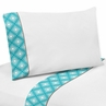 4 pc Queen Sheet Set for Mod Elephant Bedding Collection by Sweet Jojo Designs